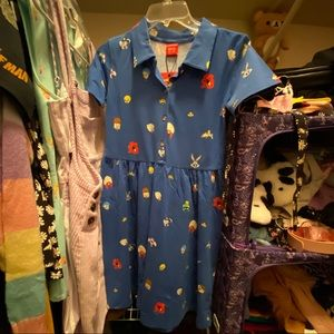 Looney tunes shirt dress!
